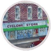 The Cyclone Store 1948 Round Beach Towel