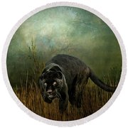 The Dark Destroyer Round Beach Towel