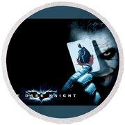 The Dark Knight Round Beach Towel