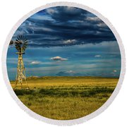 The Dark Wind Round Beach Towel