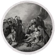 The Death Of General Wolfe At The Round Beach Towel