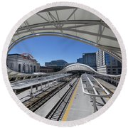 The Denver Union Station Round Beach Towel