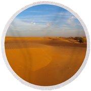The Desert  Round Beach Towel by Jouko Lehto