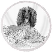 The Diva Round Beach Towel