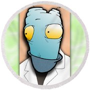 The Doctor Round Beach Towel