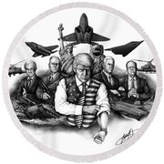 The Donald - Make America Great Again Round Beach Towel