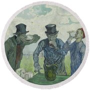 The Drinkers Round Beach Towel