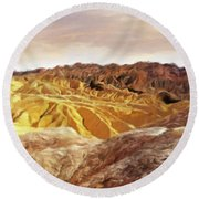 The Dry Lands Round Beach Towel
