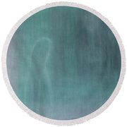 The Essential Self Round Beach Towel