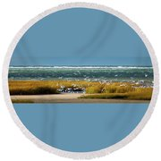 The Gathering Round Beach Towel