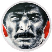 The Good The Bad And The Ugly Round Beach Towel