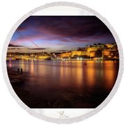 The Grand Harbour Round Beach Towel