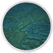 The Great Barrier Reef Round Beach Towel