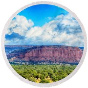 The Great Divide Round Beach Towel