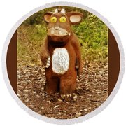 The Gruffalo Round Beach Towel