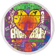 The Height Of Highness Round Beach Towel