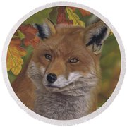 The Hunt For Red October Round Beach Towel