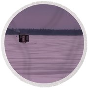 The Hut II Round Beach Towel
