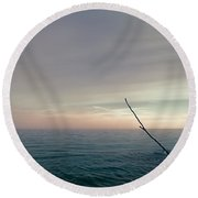 The Ideal Space Round Beach Towel by Scott Norris