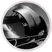The Jay Pritzker Pavilion Round Beach Towel