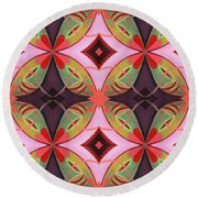 The Joy Of Design 42 Arrangement 2 Round Beach Towel
