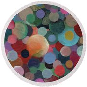 The Joy Of Design X L Round Beach Towel
