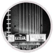 The Kessler V2 091516 Bw Round Beach Towel