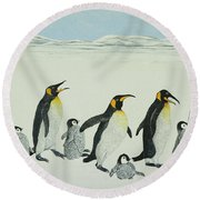 The Learning Curve Round Beach Towel