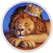 The Lion King Round Beach Towel
