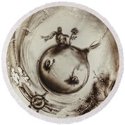 The Little Prince Round Beach Towel