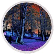 The Long Walk Home Round Beach Towel