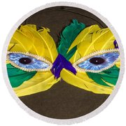 The Look Round Beach Towel