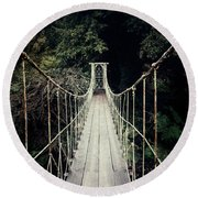 The Lost Path Round Beach Towel