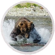 The Lunge Round Beach Towel