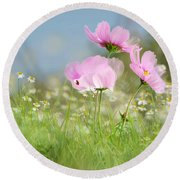 The Meadow Round Beach Towel