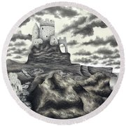 The Moher Giant Round Beach Towel