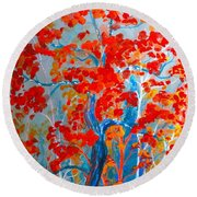 The Mother Round Beach Towel