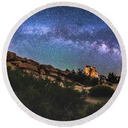 The Mystic Valley Round Beach Towel