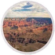 The Natives Holy Site Round Beach Towel