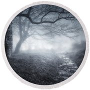 The Old Forest Round Beach Towel