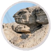 The Old Gatekeeper 02 Round Beach Towel