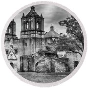 The Old Mission Round Beach Towel