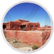 The Painted Desert Inn Round Beach Towel