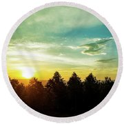 the Panorama route in Mpumalanga, South Africa. Round Beach Towel