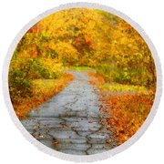 The Path Round Beach Towel by Darren Fisher