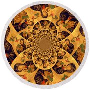 The Piece Round Beach Towel