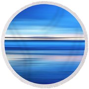 The Pier Round Beach Towel