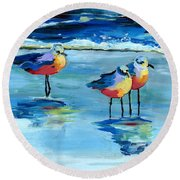 The Pipers Round Beach Towel
