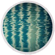 The Pool Party Round Beach Towel