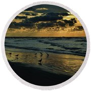The Quiet In My Soul Round Beach Towel